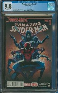 Amazing Spider-Man #9 CGC Graded 9.8
