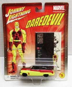 Johnny Lightning #5 Daredevil Man Without Fear Die-Cast Bumongous (2002)
