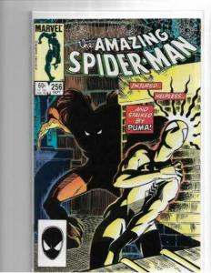 Amazing Spider-Man #256 / VF+ / 1st Appearance of Puma / Copper Age Key
