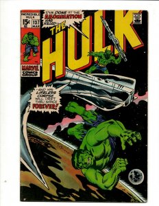 Incredible Hulk # 137 FN/VF Marvel Comic Book Iron Man Captain America Thor BJ1