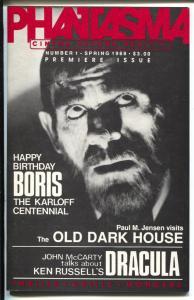 Phantasma #1 Spring 1988-1st issue-Boris Karloff-King Kong-Dracula-VF/NM