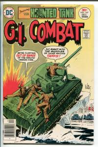 G.I. COMBAT #197 1976-DC-THE HAUNTED TANK-JOE KUBERT WAR COVER-nm-