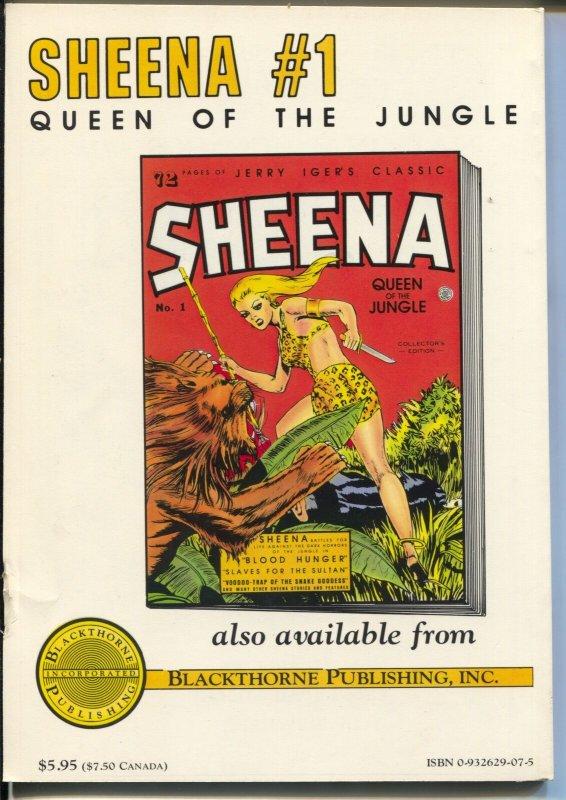 Jumbo Comics #1 1985-reprints 1st issue of Jumbo Comics-Sheena-Eisner-F/VF