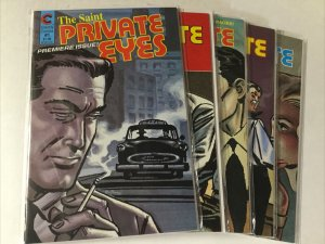 Private Eyes 1-6 1 2 3 4 5 6 Lot Set Run Nm Near Mint Eternity Comics