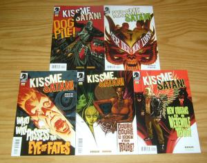 Kiss Me, Satan! #1-5 VF/NM complete series - new orleans is a werewolf town