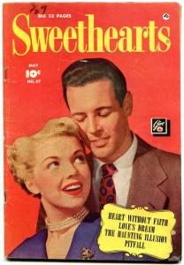 Sweethearts #87 1950- Golden Age Romance-Heart without Faith VG+