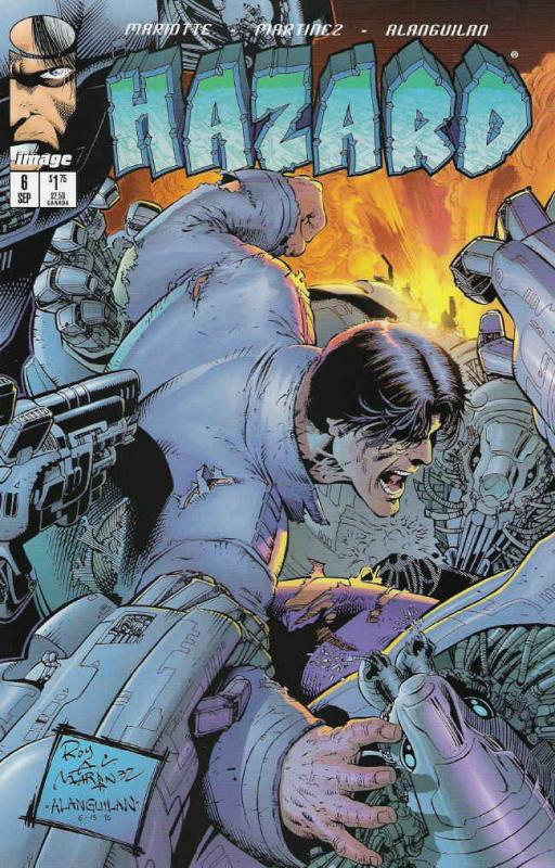 Hazard #6 VF/NM; Image | save on shipping - details inside
