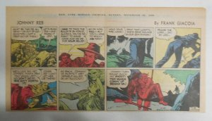 Johnny Reb Sunday by Frank Giacoia & Jack Kirby from 11/23/1958 Third Page Size!