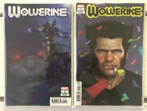 Wolverine #1 Variants 2 Book Lot Dawn of X