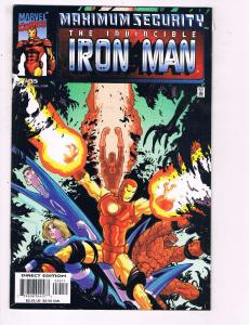 The Invincible Iron Man # 35 VF/NM Marvel Comic Books Avengers Thor Hawkeye SW14