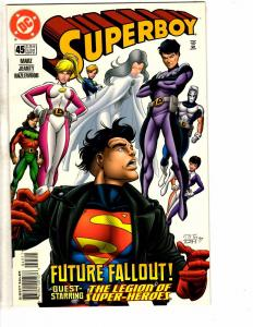 9 Superboy DC Comic Books # 45 47 48 49 50 51 52 53 55 Flash Superman Arrow J214