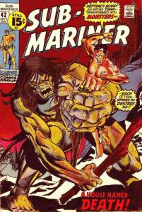 Sub-Mariner, The (Vol. 2) #42 VG; Marvel | low grade comic - save on shipping -