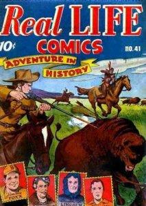 Real Life Comics #41 FAIR; Standard   low grade comic - save on shipping - detai