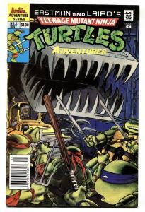TEENAGE MUTANT NINJA TURTLES ADVENTURES #2 comic book 2nd ISSUE-1989