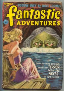 Fantastic Adventures Pulp September 1952- TERROR FROM THE ABYSS