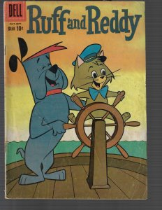 Ruff and Reddy #6  (Dell, 1958) VG-