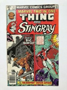 MARVEL Two in one THE THING and STINGRAY #64 FINE- (A294)
