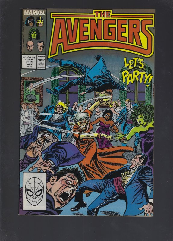 The Avengers #291 (1988)