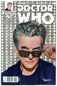 DOCTOR WHO #5 A, NM, 12th, Tardis, 2016, Titan, 1st, more DW in store, Sci-fi