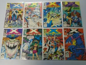 X-Factor comic lot 23 different from #26-49 8.0 VF (1988-89 1st Series)