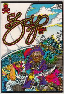 Zap #3 (Jan-68) FN/VF- Mid-High-Grade Captain Piss Gums