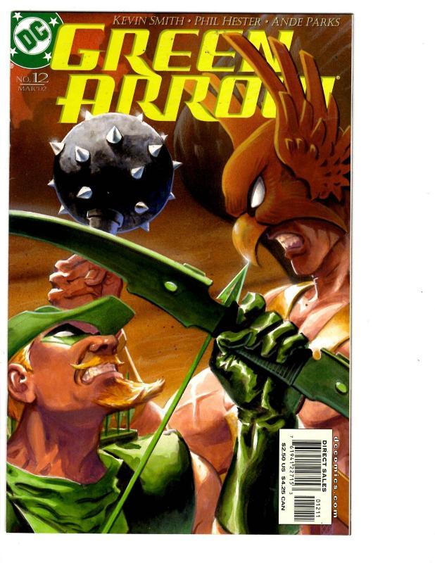 5 Green Arrow Dc Comic Books 12 13 14 15 16 Hawkman Kevin Smith