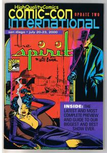 SDCC UPDATE #2 for 2000, NM, Will Eisner, Spirit, San Diego Comic Convention