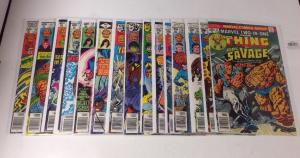 Marvel Two In One 21 25 35 36 40 42 44 46 47 57 58 61 65 66 67 Near Mint Lot Set