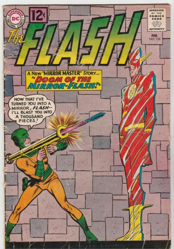 Flash, The #126 (Feb-62) VG+ Affordable-Grade Flash