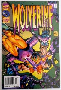 Wolverine #92 (VF/NM, 1995) RARE NEWSSTAND