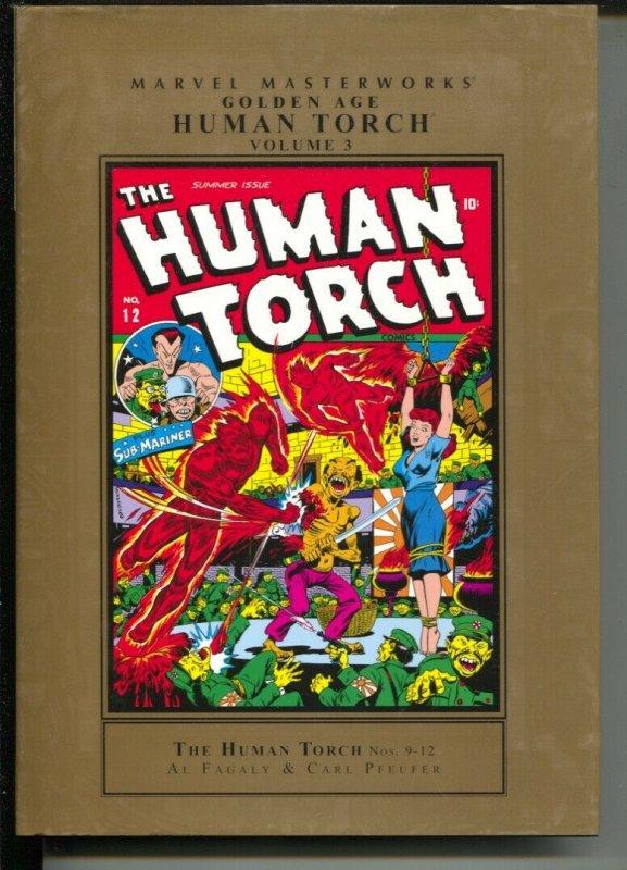 Marvel Masterworks Golden Age Human Torch-Al Fagaly-Vol 3-2010-HC-VG/FN