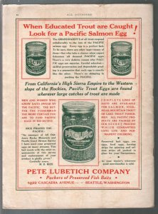All Outdoors 5/1932-Photos, info, ads from California and the Pacific Coast-VG