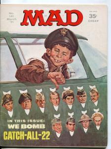 Mad-Magazine-#141-March-1971-Mort Drucker-Don Martin-David Berg