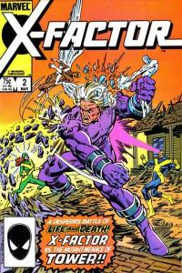 X-Factor (1986 series) #2, VF+ (Stock photo)