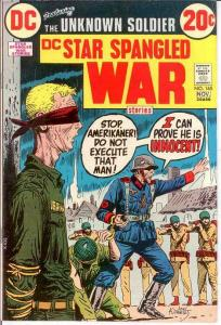 STAR SPANGLED WAR 165 VF   November 1972 COMICS BOOK