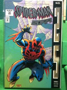 Spider-Man 2099 #25 metallic cover embossed cover