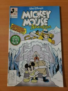 Walt Disney's Mickey Mouse Adventures #4 ~ NEAR MINT NM ~ 1990 Disney Comics