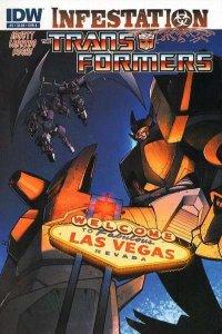 Transformers: Infestation #2, VF+ (Stock photo)