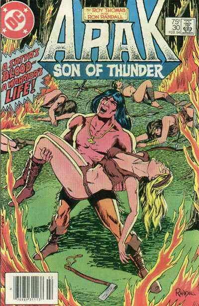 Arak Son of Thunder #30 (Newsstand) FN; DC   save on shipping - details inside