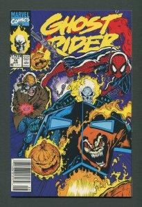 Ghost Rider #16 /  9.2 NM-  / Newsstand  August 1991