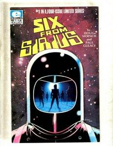10 Comics Six From Sirius 1 2 3 4 Six From Sirius II 1 Vision 1 2 3 4 +MORE SB2