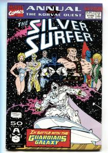 Silver Surfer Annual #4-1991-Origin-Guardians of the Galaxy VF/NM