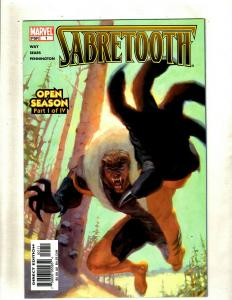 Lot of 9 Comics Sabertooth 1 4 Warlock and the Infinity Watch 8 11 +MORE HY3