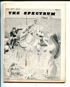 The Spectrum #3 1971-Spectrum-superhero comics-4 X 5-VG/FN