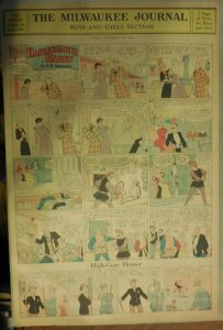Hairbreadth Harry Sunday Page by F.O. Alexander from 11/26/1933 Full Page Size !