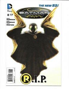 Batman Incorporated #8 DC New 52 NM 9.4  (2013) 1st print. Death of Damian Wayne