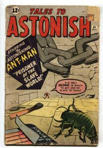 Tales to Astonish #41-Ant-Man-Kirby-Marvel-1962 G