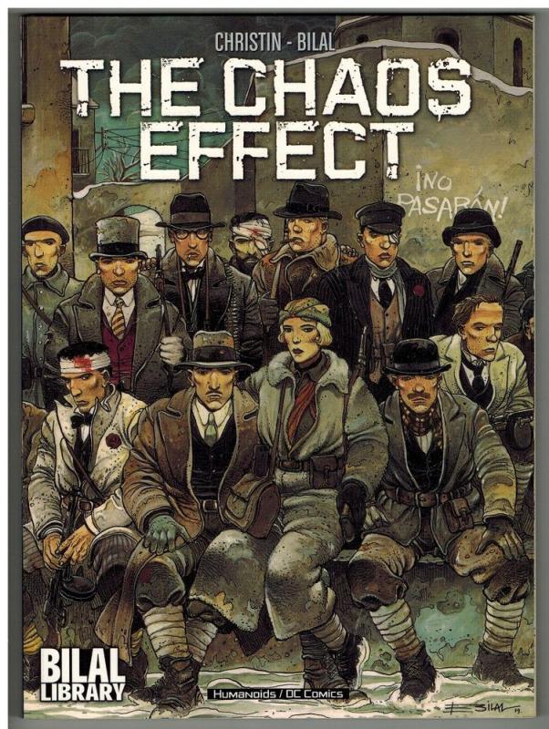CHAOS EFFECT by Pierre Christin (2005, Paperback) ENKI BILAL WHOLESALE x3