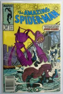 Amazing Spider-Man (1st Series) #292, Newsstand Edition Water Damage 4.0 (1987)