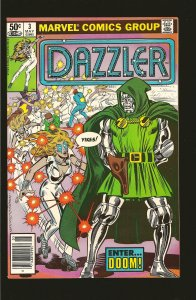 Marvel Comics Dazzler Vol 1 No 3 May 1981